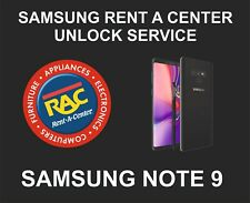 Samsung Rent a Center Remote Unlock Service for Samsung Note 9