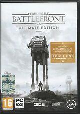 Star Wars: Battlefront - Ultimate Edition (PC, 2016 DVD-Box) Mit Origin Key Code