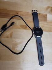 Garmin Vivoactive 4 Shadow Gray and Silver Gps Smartwatch,