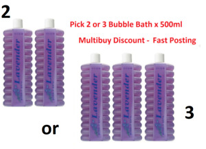 🛀Avon Lavender Bubble Bath 500ml x 2 or 3, 🛀 CLEARANCE SALE