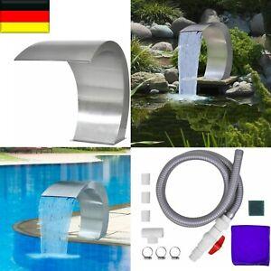Pool-Fontäne Schwalldusche Schwallbrause Pool Wasserschwall Schwimmbecken Polls