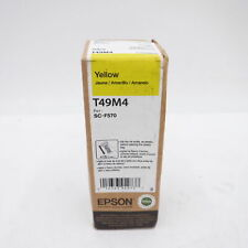 2021 Genuine OEM Epson Yellow Ink T49M4 C13T49M420 For SC-F570