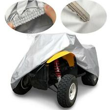 XL Silver ATV Quad Cover Fit For Honda Rancher TRX 350 400 420 FE FM TE TM