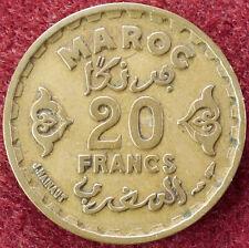 Morocco 20 Francs AH 1371 (D2004)
