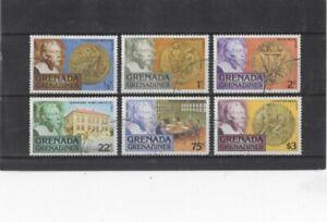 GRENADINES OF GRENADA , 1978, SG258/63 TYPE 26 USED SET