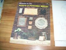 World of Punched Metal set book pattern sheets Barbara Every