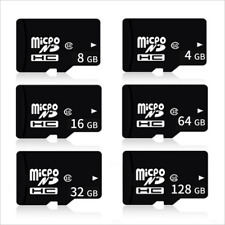 1GB 2GB 4GB 8GB 16GB 32GB 64GB TF Micro SD Mini Class 4/10 Memory Cards Lot
