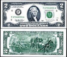 "UNITED STATE AMRICA USA 2 DOLLARS 1995 P 497 ""F"" ATLANTA UNC"