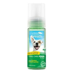 TropiClean Fresh Breath Oral Care Mint Foam