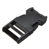 10pcs plastic buckles cs paracord for paracord bracelet black strap clasp 2 M6R3