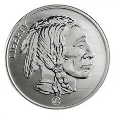 Buffalo - Indian Head Reverse Proof 1 oz .999 Silver Round USA Made Bullion Coin