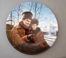 Zhivago and Lara Collector's Plate