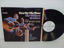 WILBURN BROTHERS: Two For The Show 1967 WHITE LABEL PROMO LP Decca DL 74824
