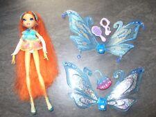 RARE poupée Doll WINX CLUB BLOOM glam magic ENCHANTIX Mattel 2007 complète