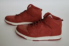 Nike Dunk CMFT Python Red Reptile Basketball Shoes 705433-60 Size 11 GUC