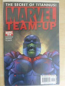 "Marvel Team Up Issue 12 ""Secret Of Titannus"" - 2005 Kirkman"