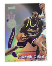 1997-98 Stadium Club Royal Court #RC7 Shaquille O'Neal Los Angeles Lakers