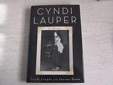 CYNDI LAUPER SIGNED BOOK
