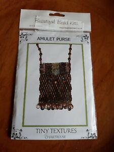 Beautiful bead kits . Amulet purse