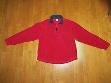 Old Navy Mens Burgundy Red Zip Front Fleece Lined Hoodie Jacket Coat Size XXL
