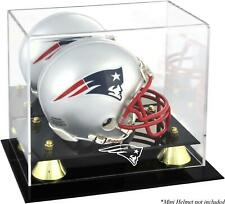 New England Patriots Mini Helmet Display Case - Fanatics