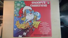 SNOOPY'S CHRISTMAS Peter Pan Records LP  SEALED