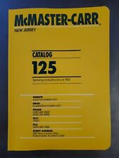 McMaster Carr Catalog 125 New Jersey