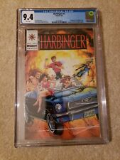 Harbinger 1 CGC 9.4 freshly graded Valiant Comics