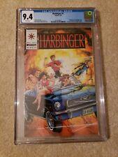 Harbinger 1 CGC 9.4 freshly graded Valiant Comics