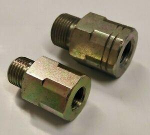BSP Male to BSP Female Nipple Extension Adaptors - Hydraulic & Air (U47)