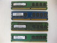 Major Brand 4GB Kit (4x1GB) 2Rx8 PC2-6400U 800Mhz DDR2 Desktop RAM Memory