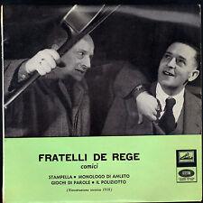 FRATELLI DE REGE - COMICI # STAMPELLA - MONOLOGO DI AMLETO = GIOCHI DI PAROLE -