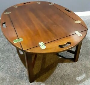 VINTAGE LANE BUTLER TRAY COFFEE TABLE