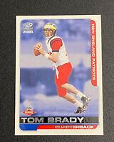 2000 Pacific Paramount #138 TOM BRADY ROOKIE RC Bucs Patriots Football Card MINT