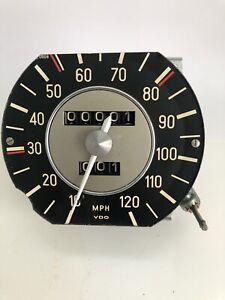 Rebuilt speedometer for 1969 BMW 2002. Rare