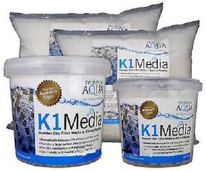 Evolution Aqua K1 media for koi pond filters various amounts FREE BACTERIA BALLS