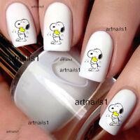 Snoopy Peanuts Woodstock Hug Nail Art Water Decal Stickers Manicure Salon Polish