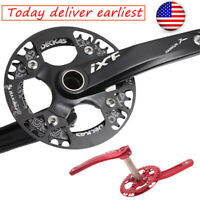 DECKAS 32-38t 104bcd MTB Bike Narrow Wide Crankset Crank set Chainring Guard