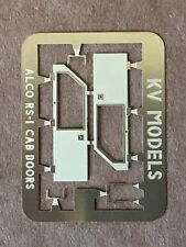 ETCHED ALCO RS-1 CAB DOORS HO SCALE KV MODELS KV-303H