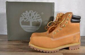 New Timberland Men's Premium 6 IN Waterproof Boot Wheat Nubuck 10.5 TB 073540