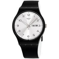 Swatch Originals Quartz Movement Silver Dial Unisex Watch SUOB717