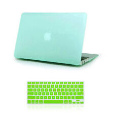 Rubberized Hardshell Hard Case Cover with Keyboard Skin for MAC MacBook Pro Air