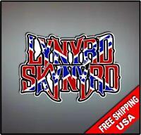 Lynyrd Skynyrd Vinyl Wall logo Decal Sticker Heavy 70's Rock Band