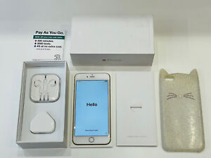 iPhone 6 Plus 16GB Gold Unlocked Used A1524 (CDMA GSM) IN BOX with accessories
