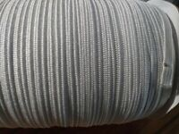 200 yards 1/4 inch Flat White Elastic - Elastic ships from USA FAST! White