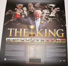 "Bart Cummings ""King of the Cup""  The Cup unframed Siigned COA 180/250"