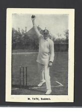THOMSON - CRICKETERS (EXTRA LARGE) - MAURICE W TATE, SUSSEX