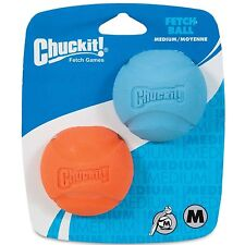Chuckit! Dog Fetch Toy FETCH BALL Durable Rubber Fits Launcher MEDIUM