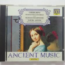 Cherubini: Six Sonatas for Harpsichord / Laura Alvini / Nuova Era CD 6867