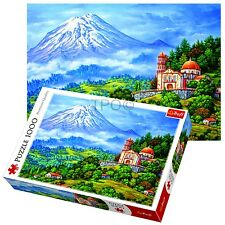 Trefl 1000 Piece Adult Large Landscape With Volcano Ice View Jigsaw Puzzle NEW